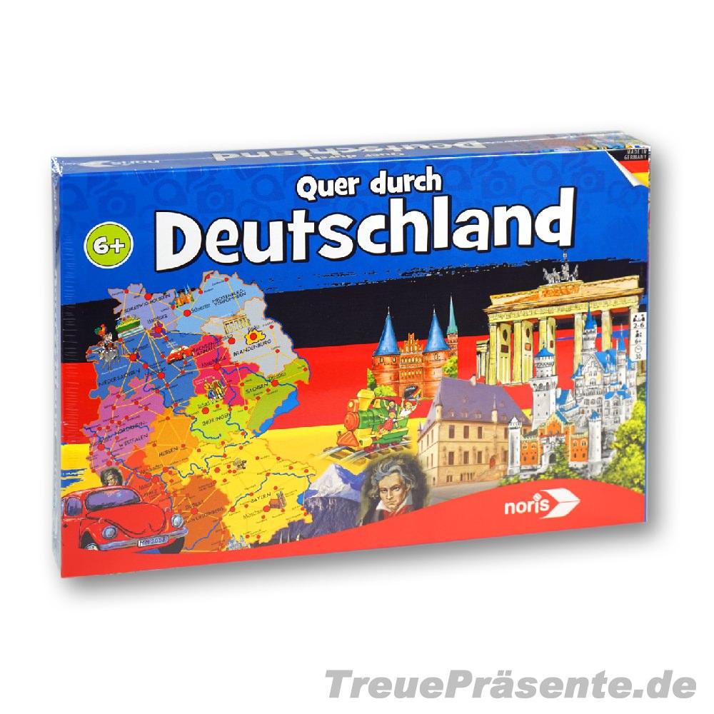 Quer Durch Deutschland Spiel